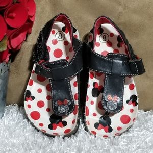 Minnie Mouse footbed sandals